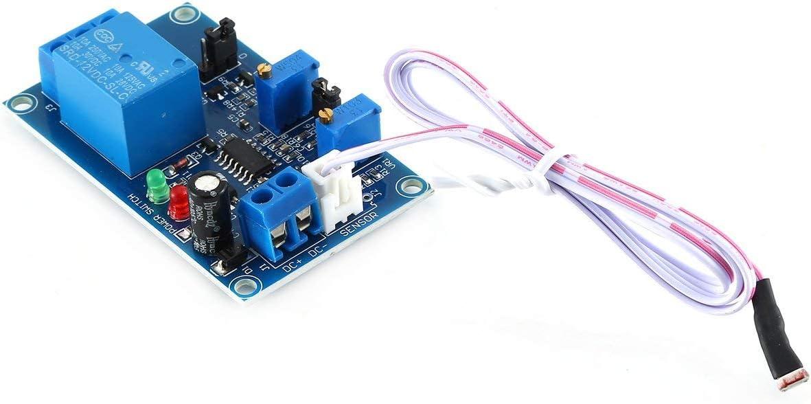 Module de r/ésistance photosensible HCW-M417 Commutateur de contr/ôle de luminosit/é automatique Capteur de d/étection de module de relais /à photor/ésistance couleur: bleu