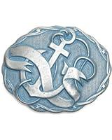 VaModa Gürtelschließe Wechselschließe Gürtelschnalle Buckle 'Sailor Denim'