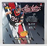 2016 Panini Absolute Football Retail Premium Box 4 Packs of 10 cards) 1 Auto 1 Memorabilia