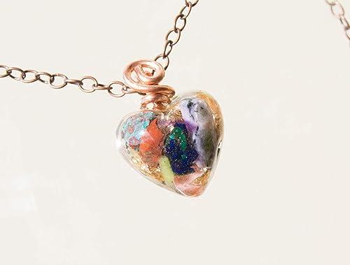ite Chakra Shungite Reiki.Unisex Necklace Orgone Orgonite pendant Moldavite