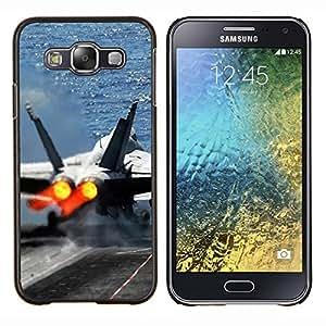LECELL--Funda protectora / Cubierta / Piel For Samsung Galaxy E5 E500 -- Naturaleza Hermosa Forrest Verde 148 --