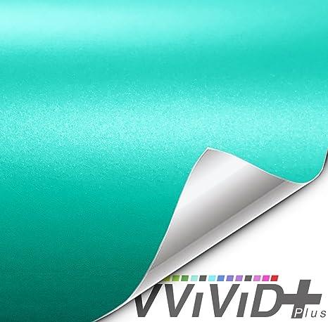 Amazon.com: VViViD+ - Lámina de vinilo mate metálico Miami ...