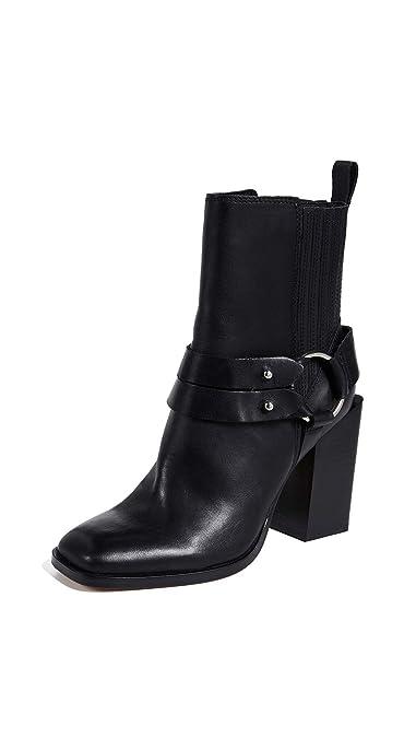 dd6e60e1b1 Amazon.com: Dolce Vita Women's Isara Block Heel Booties: Shoes