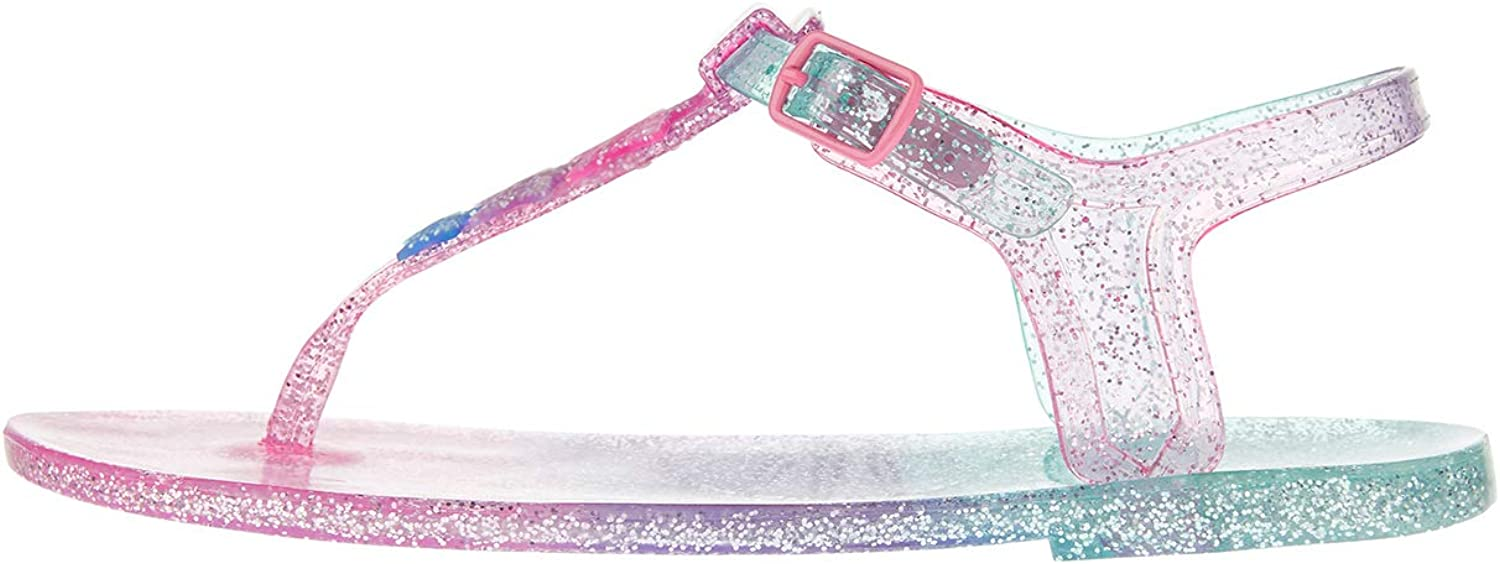 Star Glitter Jelly Sandals