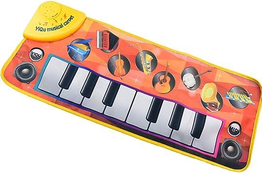 Pingenaneer Piano Musical Alfombra Juguetes de Educación ...