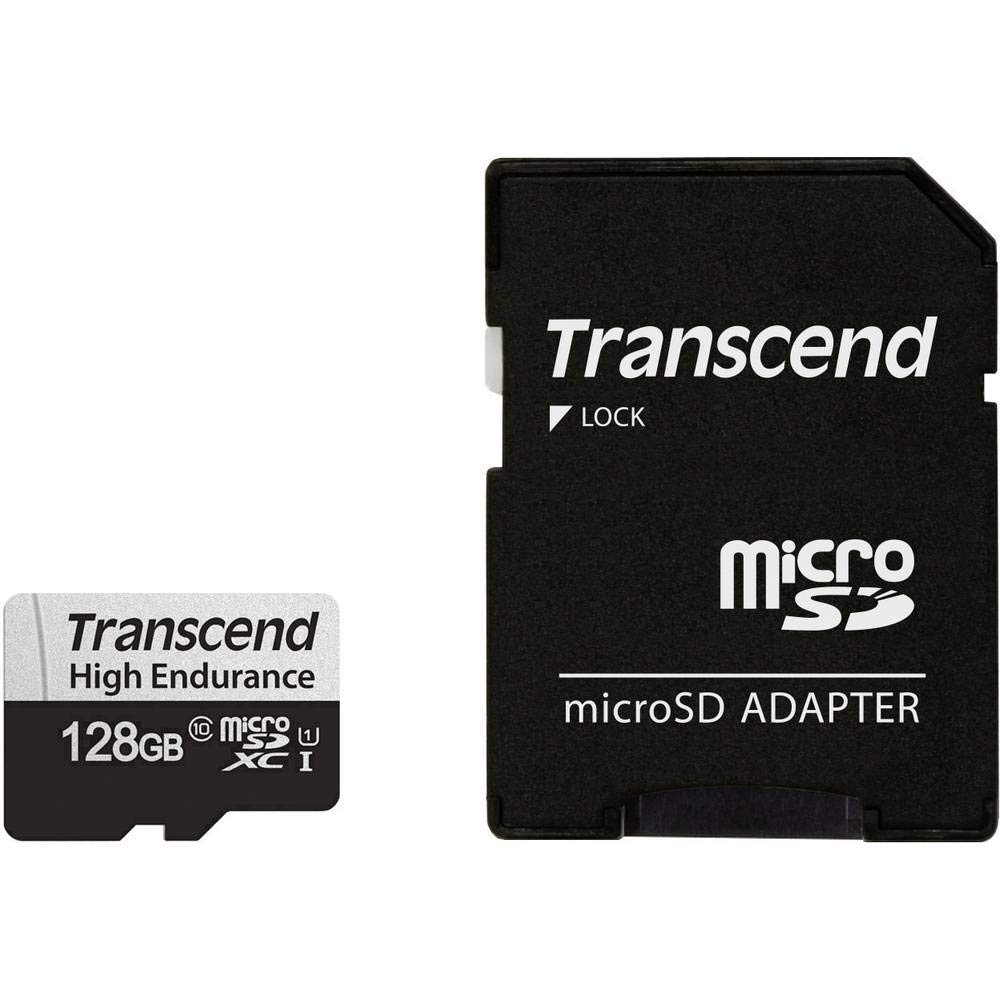 Transcend 128GB microSDXC 350V High Endurance Memory Card