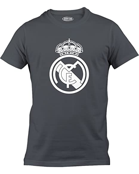 Smart Zone FC Real Madrid Shirt Sergio Ramos Men s T- Shirt Charcoal Small b53673e7b