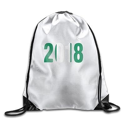 bd76349425 hot sale 2017 Welonzd Gym Sack Bag Drawstring 2018 Nigerian Flag And  Football Backpack Sport Bag