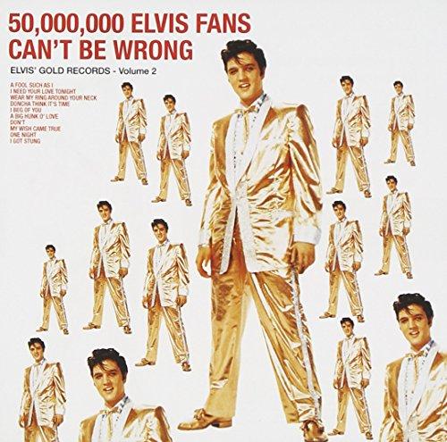 CD : Elvis Presley - 50,000,000 Elvis Fans Can't Be Wrong (CD)