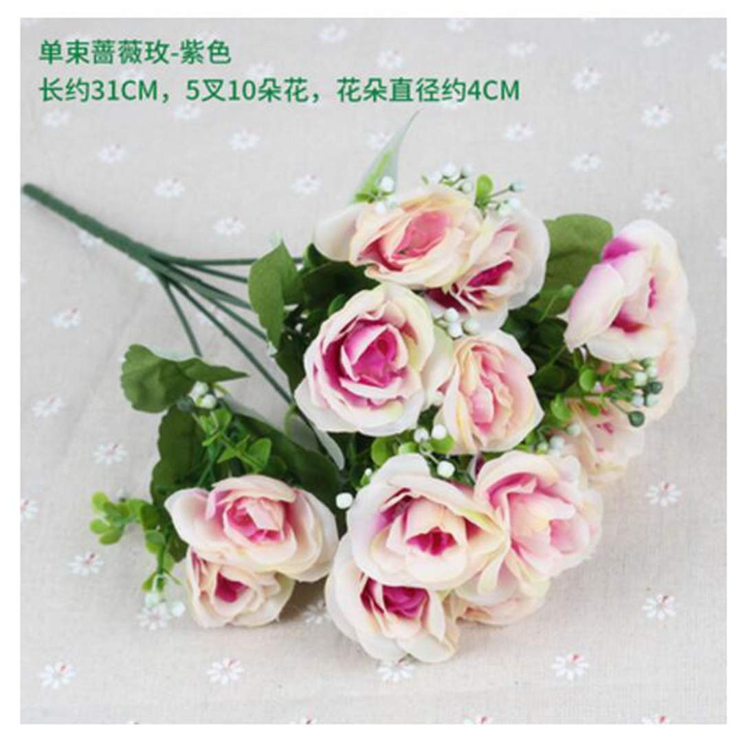 JIAHUAHUHH-Single-Bundle-of-European-Artificial-Flowers-Fake-Flowers-Single-Decorative-Silk-FlowersRosemary-Purple31cm