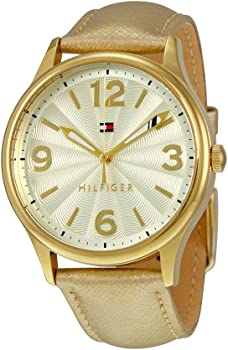 Tommy Hilfiger 38mm Metallic Gold Women's Watch