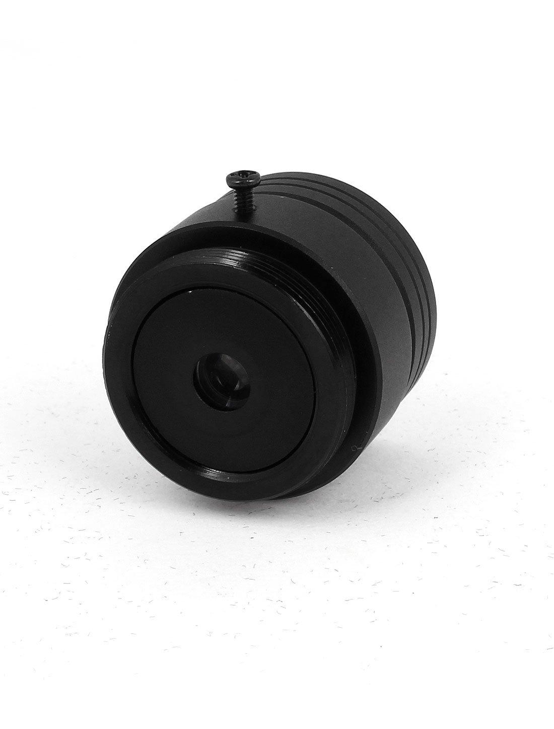 uxcell 6mm F1.2 1//2.5 CS Mount Fixed Iris Monofocal Lens for CCTV Camera