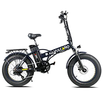 fat-bike bicicleta eléctrica plegable 20 DME Bike Vulcano Extreme v2.7 500