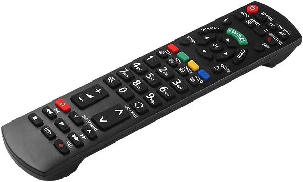 Reemplazo de Control Remoto Universal Smart TV para Panasonic N2QAYB000487 EUR76280 EUR-7628030 Control Remoto de televisión (Negro) ESjasnyfall: Amazon.es: Electrónica