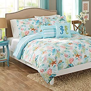 61Qv3dLMJ0L._SS300_ 50+ Starfish Bedding Sets and Starfish Quilt Sets