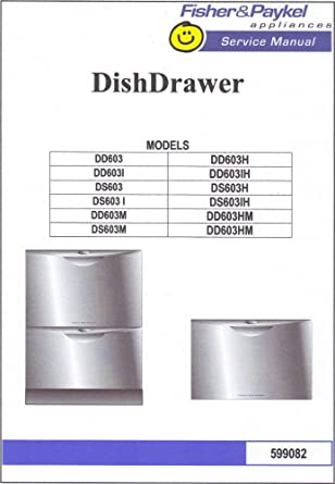 amazon com ds603h service manual fisher paykel appliances rh amazon com fisher and paykel service manual washing machine fisher and paykel dd603 service manual