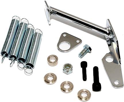 Throttle Cable Bracket for Holley Carburetor Aluminum Return Spring Fits Sbc Bbc