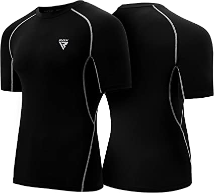 RDX Men/'s Compression Base Layer Pants Running Gym Exercise Jogging Sport X5B US