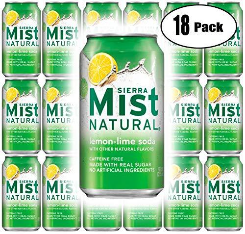 - Sierra Mist Lemon-Lime Soda Can, 12 Fl Oz (Pack of 18, Total of 216 Oz)