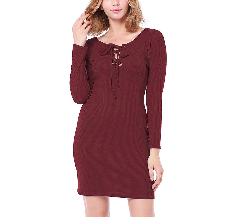 e5e1f7b545 Long Sleeve Pencil Skirt Dress