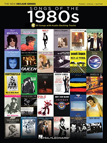 - Songs of the 1980s Songbook: The New Decade Series with Online Play-Along Backing Tracks