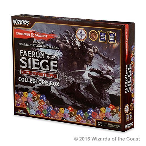 Dungeons and Dragons Dice Masters: Faerun Under Siege Collectors Box by Dice Masters - Dungeons & Dragons'