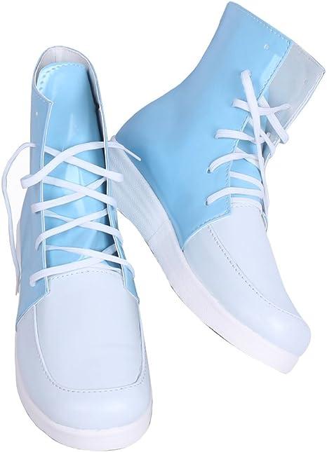 My Hero Academia Shoto Todoroki Cosplay Shoes Canvas Shoes Sneakers White//Black