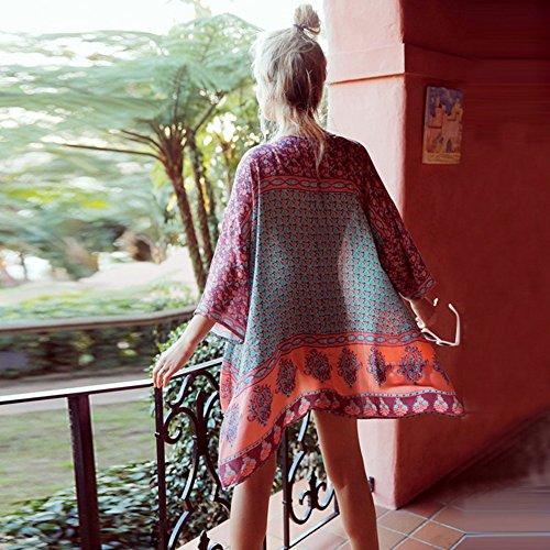 BICLEVER - Camisola - para mujer Rosa