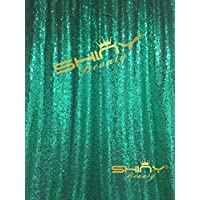 ShiDianYi 4FTX6FT-Mint Green-SEQUIN PHOTO BACKDROP, Wedding Photo Booth,Photography Background (Mint Green)