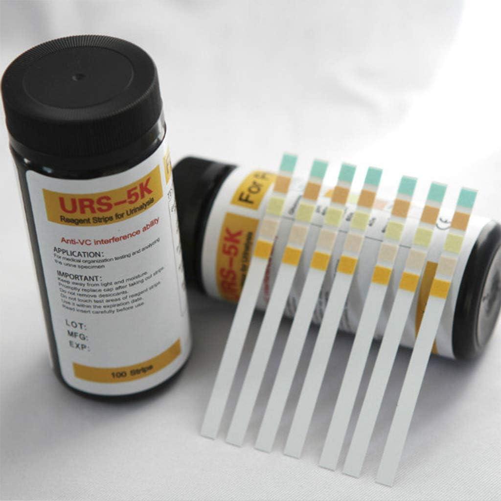 Tandou Tiras Reactivas Orina - 100 Tiras Cetosis, pH, Glucosa ...
