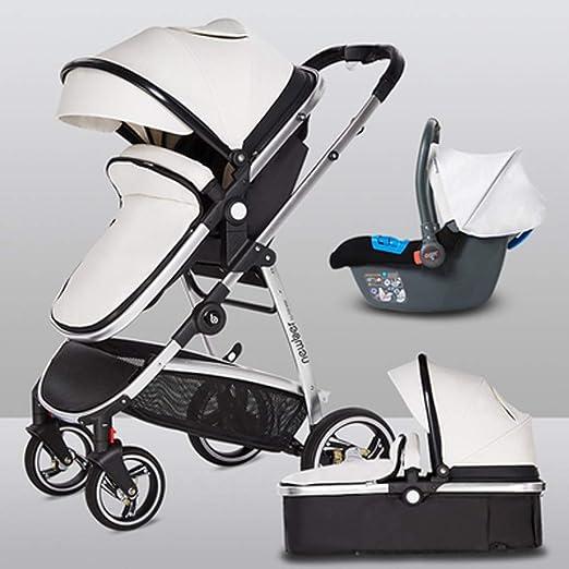 Baby Pram Newborn Car Seat 3in1 Buggy Pushchair Stroller Carrycot Travel System