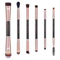 Deals on Double Ended Makeup Brushes Docolor Eye Makeup Brushes Set