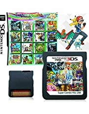 $30 » 208 in 1 Game Cartridge, Super Combo Game Pack Card for Nintendo DS/NDS/NDSL/NDSi/3DS/2DS XL/LL