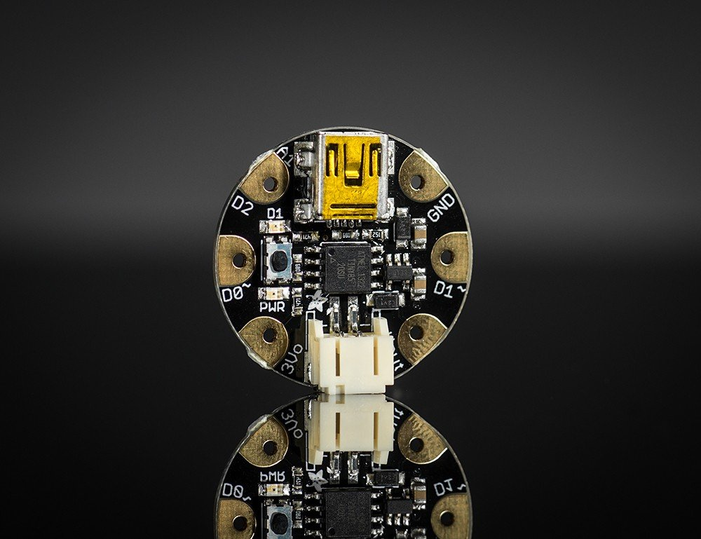 Gemma 1222 V2 Microcontroller Board - Black Adafruit