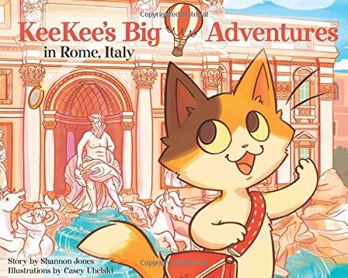 KeeKee's Big Adventures in Rome, Italy ebook
