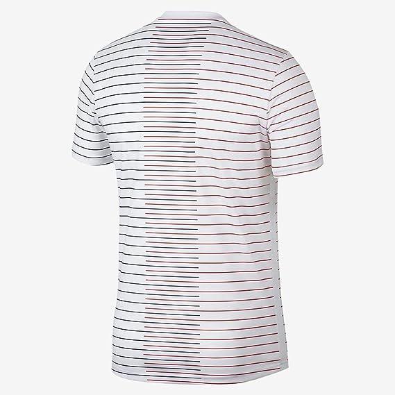 2XL wei/ß//wei/ß//wei/ß//Mitternacht-Marineblau Desconocido Herren PSG M Nk Dry Top Ss Pm Unterhemd