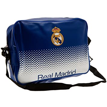 Real Madrid F.c. Messenger Lunch Bag Official Merchandise