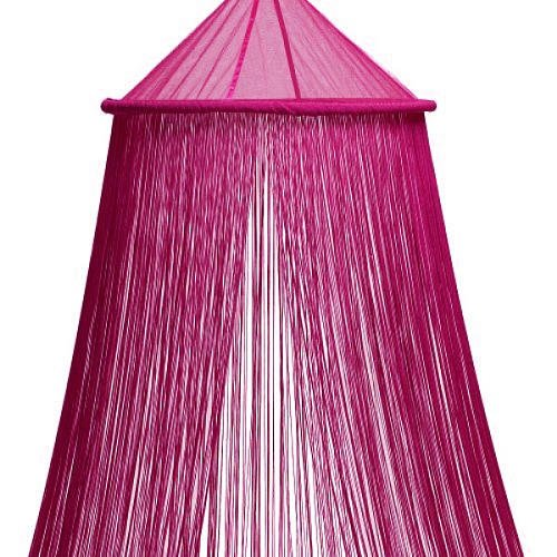 Valley of Flowers Fuschia String Canopy  sc 1 st  Buy Designer Womens Mens and Kids online Shoes and Clothing Outlet & Bed Canopies u0026 Drapes