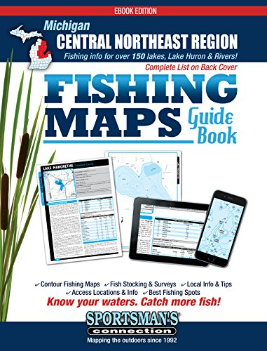 - Central Northeast Michigan Fishing Map Guide