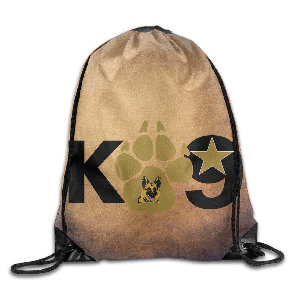 GONIESA Fashion Unisex Gym Bag Elite Breed Police Dog K9 Team Training Gymsack