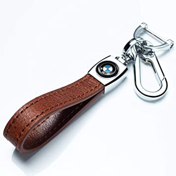 M Key Chain Keyring Family Present for Man and Woman key lanyard 1Pack Leather Car Logo Keychain Suit for BMW 1 3 5 6 Series X5 X6 Z4 X1 X3 X7 7 Series