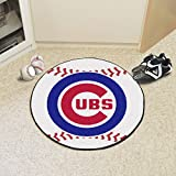 "MLB - Chicago Cubs Baseball Mat 27"" diameter"