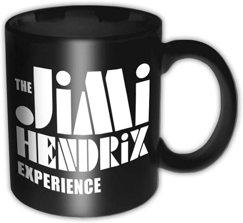 Amazon Com Jimi Hendrix Stencil Logo 4 Ounce Espresso Mug Coffee Cups Mugs
