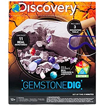 Discovery Kids Rock & Gem Dig by Horizon Group USA