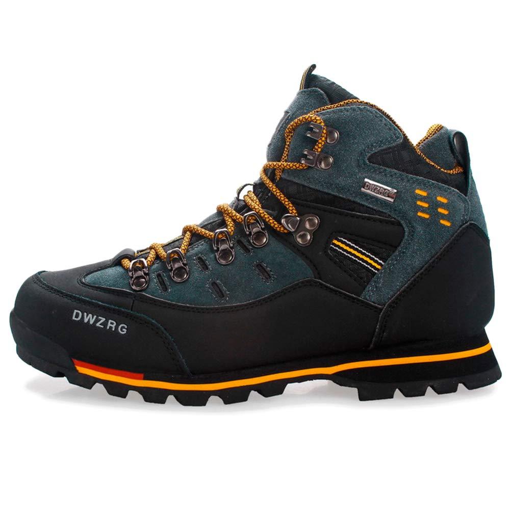 Orange GBRALX Chaussures de randonnée Montantes pour Hommes Chaussures de Course antidérapantes Confortables et résistantes à l'usure Chasse Sportive Chaussures d'escalade