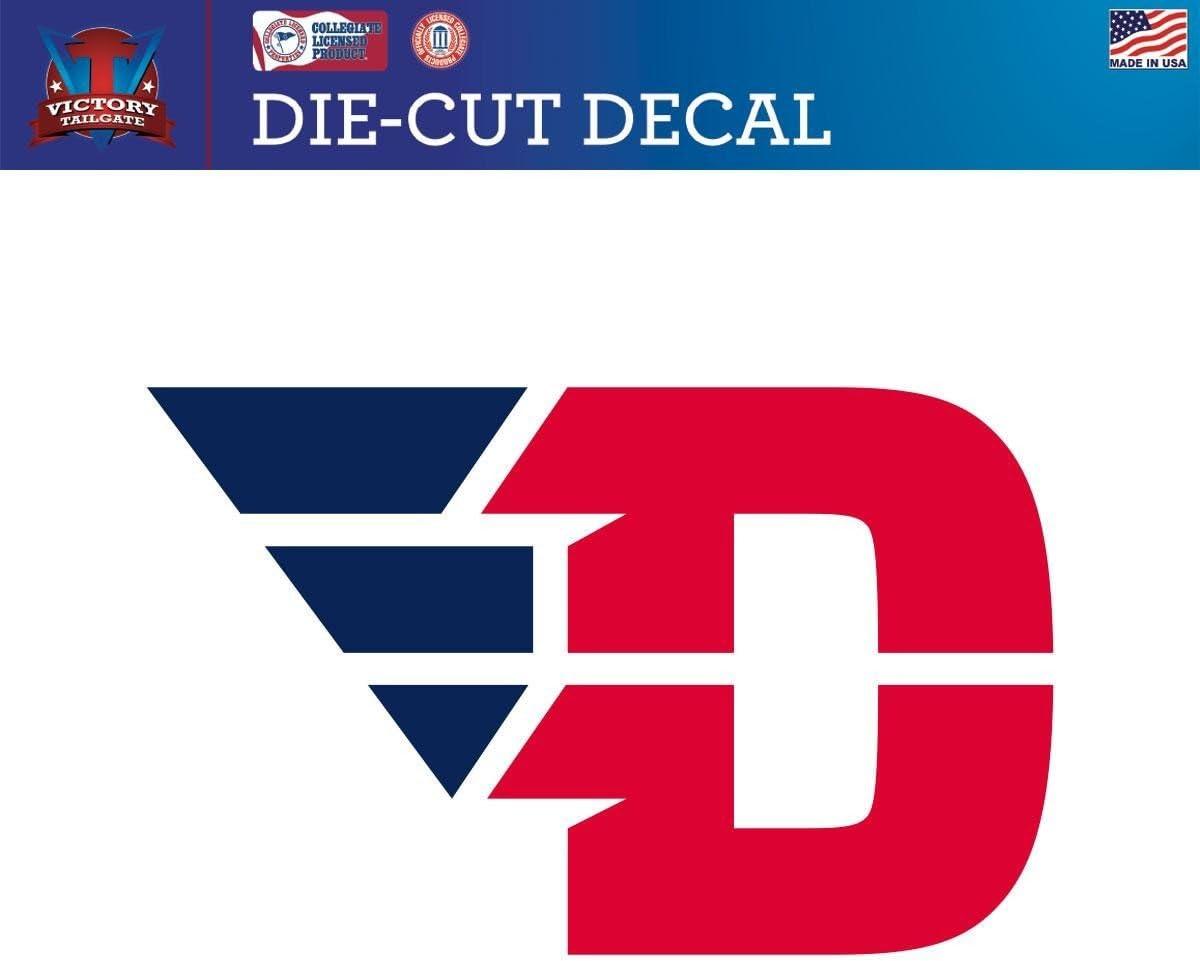 Victory Tailgate Dayton Flyers Die-Cut Vinyl Decal Logo 1