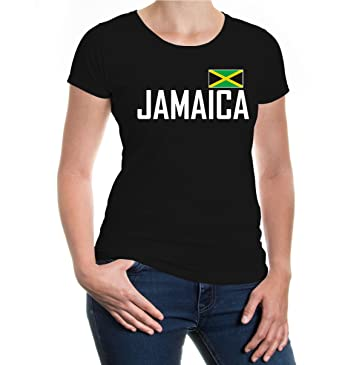 buXsbaum Girlie T-Shirt Jamaica-XS-Black-