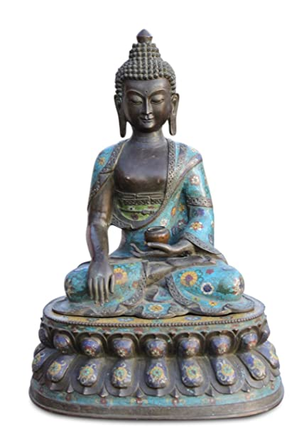 Asien Lifestyle amazon com asien lifestyle sitting bronze siddharta gautama buddha