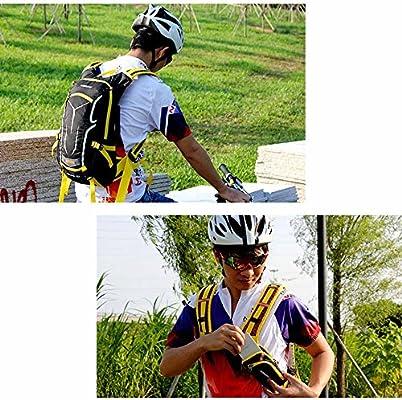 Lixada Mochila de Ciclismo Impermeable 18L Unisexo Respirable ...