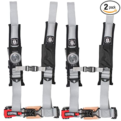 Auto Parts and Vehicles Auto Parts & Accessories Silver Safety Harness 4 Point Polaris RZR Ranger XP900 XP1000 800 Off Road UTV